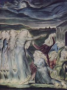 'The Parable of the Wise and Foolish Virgins', c1800 by William Blake