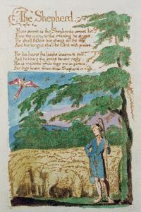 The Shepherd, from Songs of Innocence, 1789 by William Blake