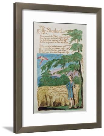 The Shepherd, from Songs of Innocence, 1789