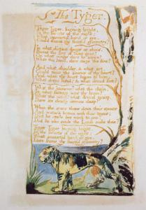 The Tyger, from Songs of Innocence by William Blake