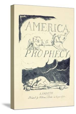Title Page from 'America, a Prophesy', Mid 1790S