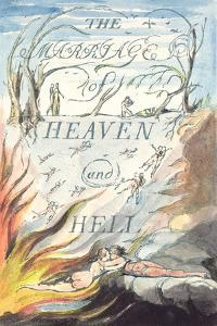 Title Page, from Marriage of Heaven and Hell by William Blake