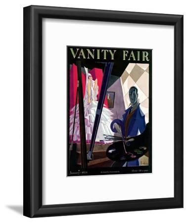 Vanity Fair Cover - January 1924