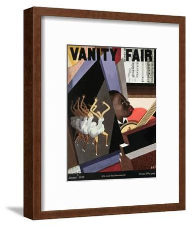 Vanity Fair Cover - January 1928