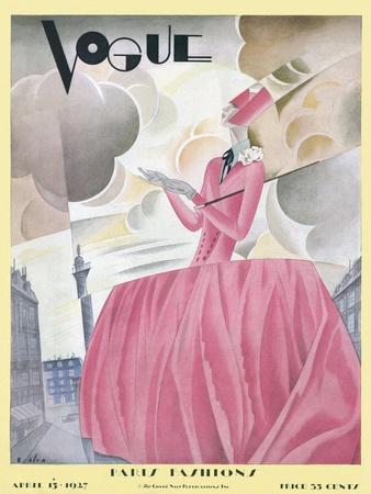 Vogue Cover - April 1927