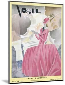 Vogue Cover - April 1927 by William Bolin