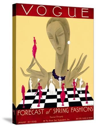 Vogue Cover - January 1929