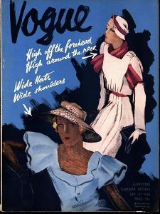 Vogue Cover - July 1932 by William Bolin