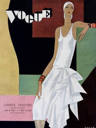 Vogue Cover - June 1929