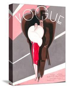 Vogue Cover - November 1926 by William Bolin