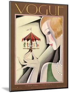 Vogue Cover - October 1926 by William Bolin