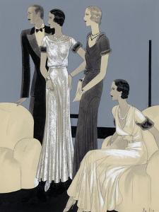 Vogue - November 1930 by William Bolin