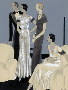Vogue - November 1930 by William Bolin