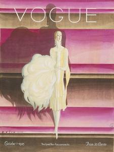 Vogue - October 1925 by William Bolin