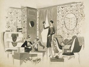 Vogue - September 1928 by William Bolin