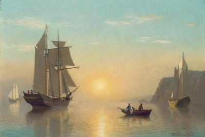 Sunset Calm in the Bay of Fundy, C.1860