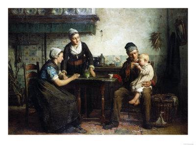 Tea for the Baby, 1876