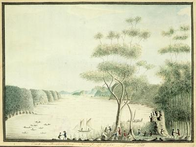 View in Broken Bay, New South Wales, 1788