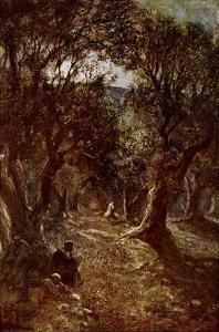 Jesus Praying in the Garden of Gethsemane by William Brassey Hole