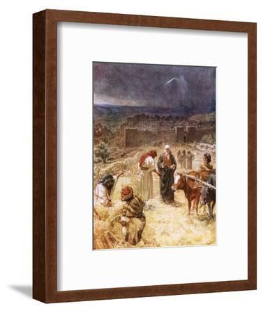 King David Purchasing the Threshing Floor