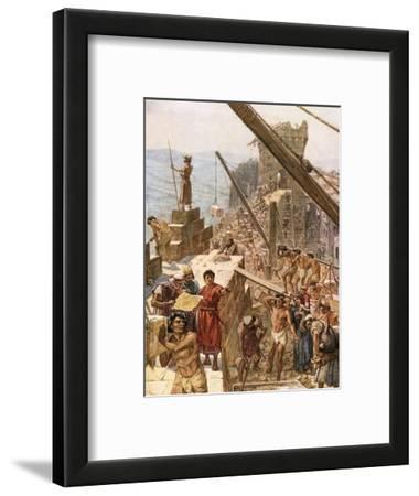 Rebuilding the Wall of Jerusalem under Nehemiah