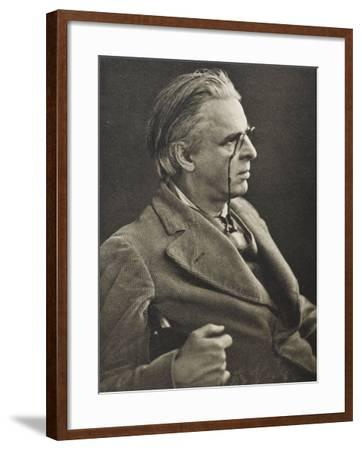 William Butler Yeats Irish Poet and Dramatist--Framed Photographic Print