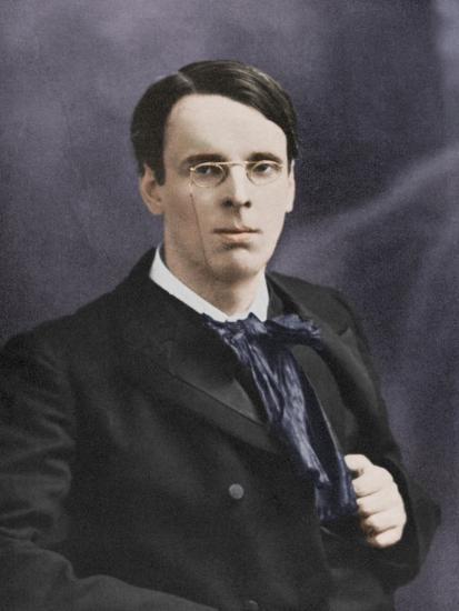William Butler Yeats, Irish poet and playwright, c1900s-Unknown-Photographic Print