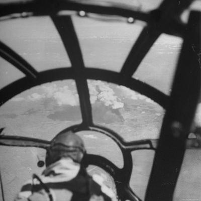 Bombardier in B-29 Bombing Raid Ansham, Manchuria During WWII