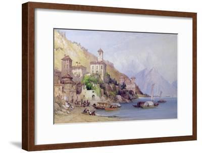 Gravedona, Lake Como, 1895