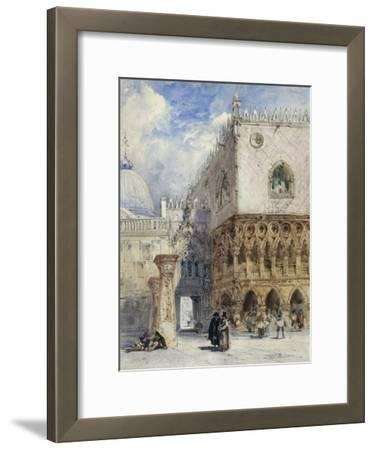 The Doge's Palace and the Piazzetta, Venice