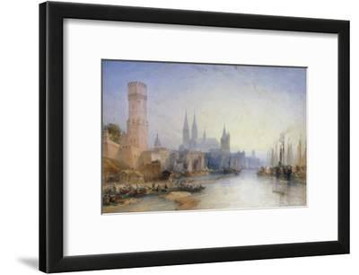 The Rhine at Cologne, 1891