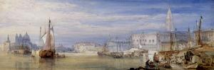 Venice Looking up the Grand Canal, 1866 by William Callow