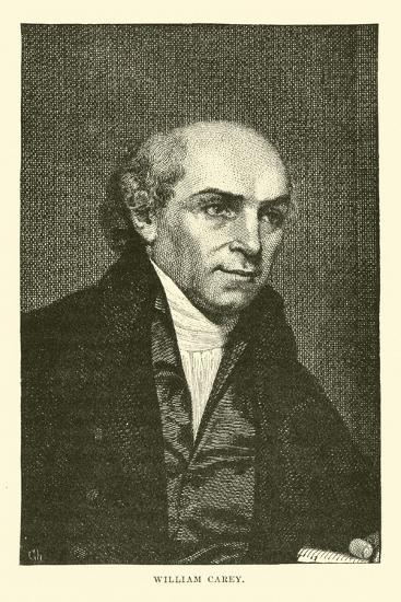 William Carey--Giclee Print