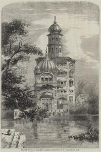 Akalis Tower at Umritzir by William Carpenter