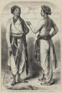 Bengal Sepoys Out of Uniform by William Carpenter