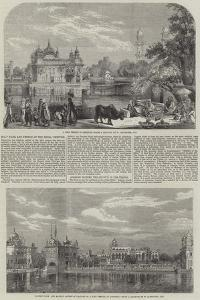 Holy Tank and Temple of the Sikhs by William Carpenter