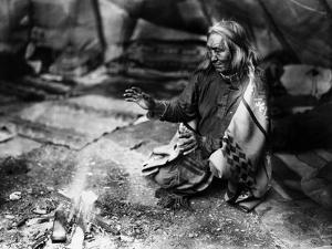 Navajo Man, C1915 by William Carpenter