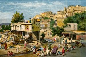 Peshawar, Pakistan, 1857 by William Carpenter