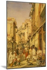 Street in Lahore, Punjab, India by William Carpenter