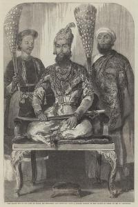 The Eldest Son of the King of Delhi, His Treasurer and Physician by William Carpenter