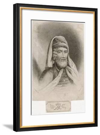 William Caxton 'the First Introducer of Printing into England'--Framed Giclee Print