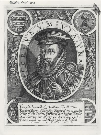 William Cecil, 1st Baron Burghley-William Rogers-Giclee Print