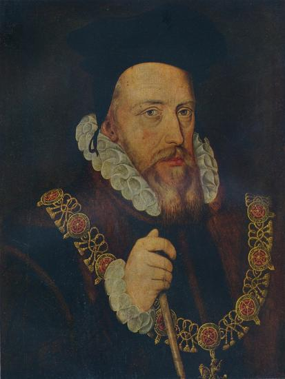 'William Cecil, Lord Burghley', 16th century-Unknown-Giclee Print
