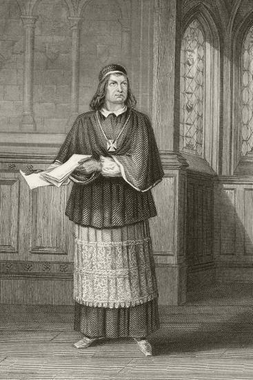 William Charles Macready--Giclee Print