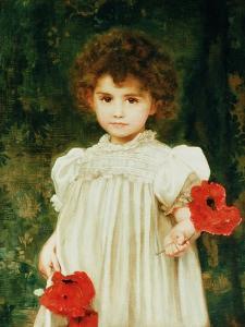 Edith Francis Moir (Connie), 1898 by William Clarke Wontner