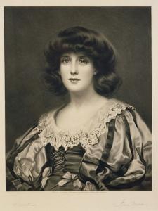 Lorna Doone, Engraved by Fred Miller (Fl.1886-1915) Pub. by Robert Dunthorne, 1892 (Mezzotint) by William Clarke Wontner