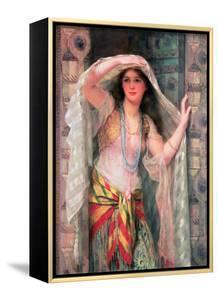 Safie, One of the Three Ladies of Baghdad by William Clarke Wontner