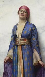 Yasemeen from the Arabian Nights, 19th Century by William Clarke Wontner