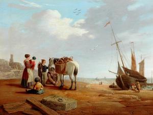Italian Coast Scene by William Clarkson Stanfield