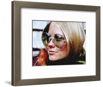 Glamour - November 1969 - Cybill Shepherd Modeling Sunglasses
